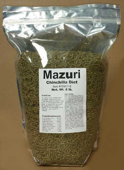 Mazuri Chinchilla Diet 8 pound